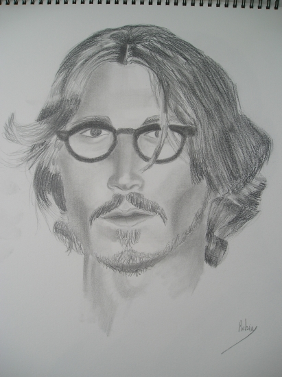 Johnny Depp by rouby